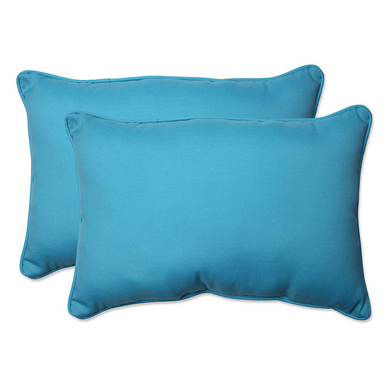 Pillow Perfect Veranda Rectangular Outdoor Pillow- Set of 2