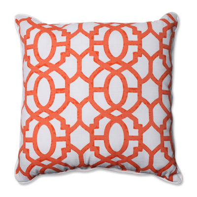 Pillow Perfect Nunu Geo Square Outdoor Pillow