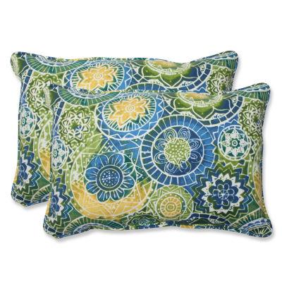 Pillow Perfect Omnia Rectangular Outdoor Pillow -Set of 2
