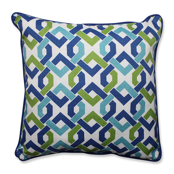 Pillow Perfect Reiser Square Outdoor Floor Pillow