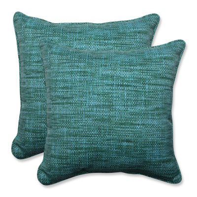 Pillow Perfect Remi Square Outdoor Pillow - Set of2