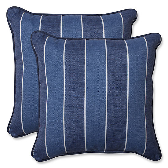 Pillow Perfect Wickenburg Square Outdoor Pillow Set Of 2