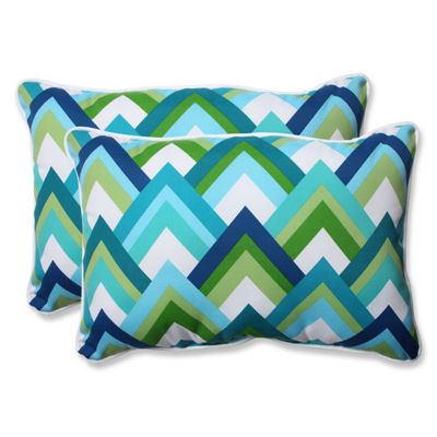 Pillow Perfect Resort Rectangular Outdoor Pillow -Set of 2
