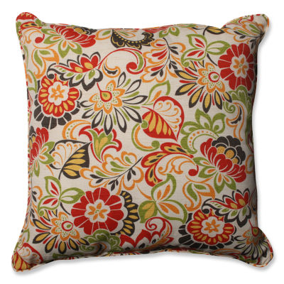 Pillow Perfect Zoe Square Outdoor Floor Pillow
