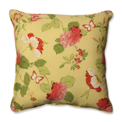Pillow Perfect Risa Square Outdoor Floor Pillow