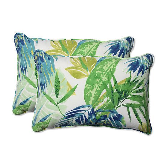 Pillow Perfect Soleil Rectangular Outdoor Pillow -Set of 2