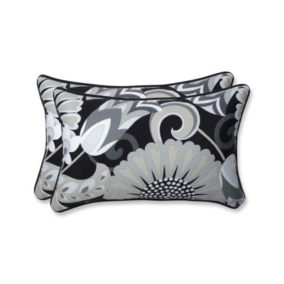 Pillow Perfect Sophia Rectangular Outdoor Pillow -Set of 2