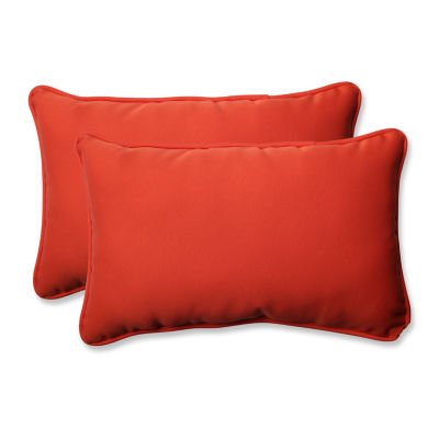 Pillow Perfect Splash Rectangular Outdoor Pillow -Set of 2