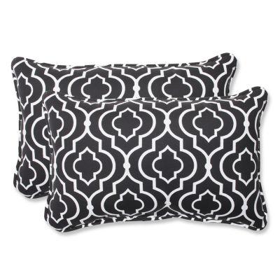 Pillow Perfect Starlet Rectangular Outdoor Pillow- Set of 2