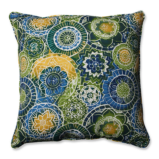 Pillow Perfect Omnia Square Outdoor Floor Pillow