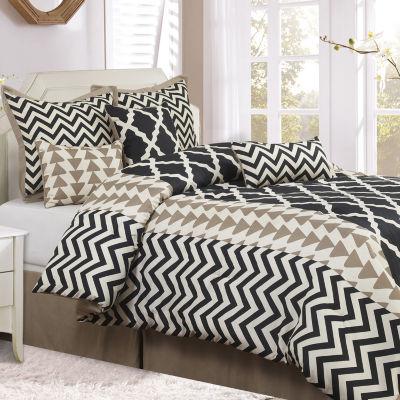 Josh 7-pc. Reversible Comforter Set