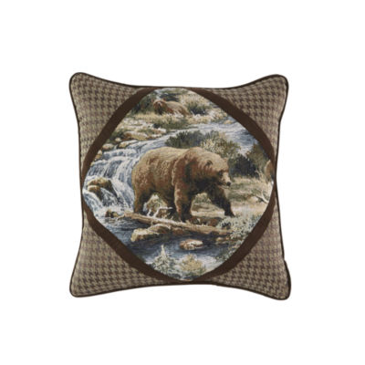 Croscill Classics Kodiak Square Throw Pillow
