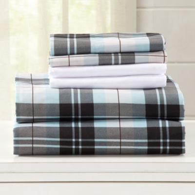Hanley Microfiber Sheet Set with Extra Pillowcases