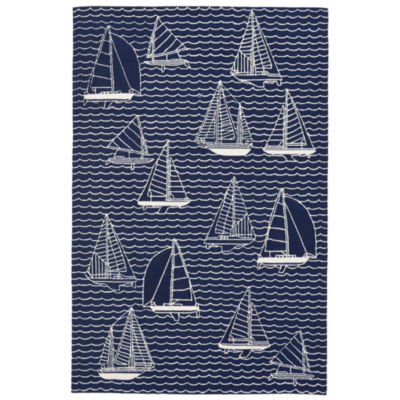 Liora Manne Capri Sails Indoor/Outdoor Rug