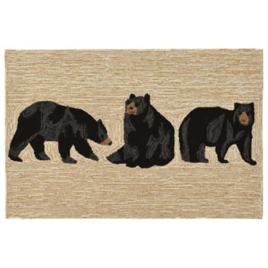 Liora Manne Frontporch Bears Indoor/Outdoor Rug