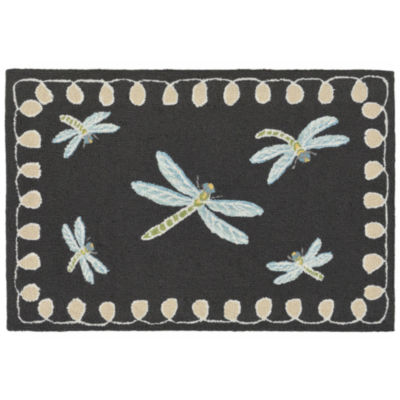 Liora Manne Frontporch Dragonfly Indoor/Outdoor Rug