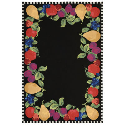 Liora Manne Frontporch Fruits Indoor/Outdoor Rug