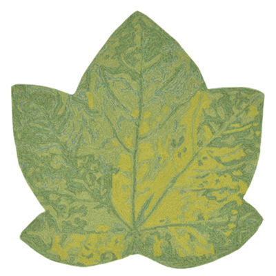 Liora Manne Frontporch Maple Leaf Indoor/Outdoor Rug