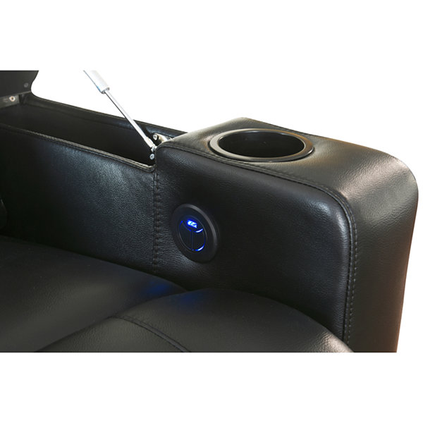 Massimo Power Leather Recliner