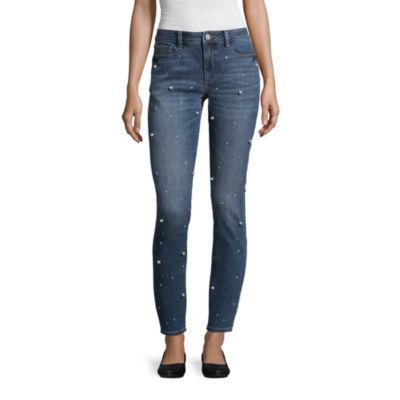 a.n.a Pearl Embellished Skinny Jean