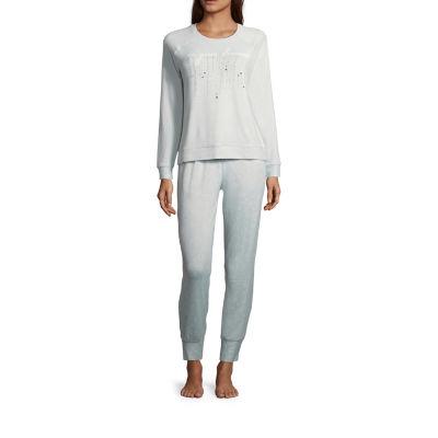 Ambrielle Cozy Jogger Pajama Set-Tall