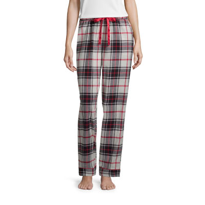 Liz Claiborne Womens Flannel Pajama Pants