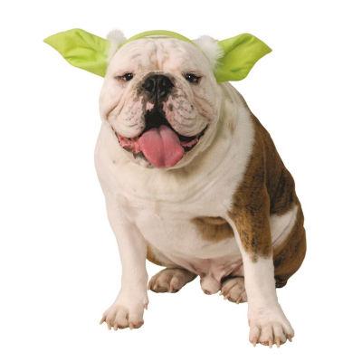 Buyseasons Star Wars Yoda Dog Ears Headpiece Pet Costume - Small/Medium