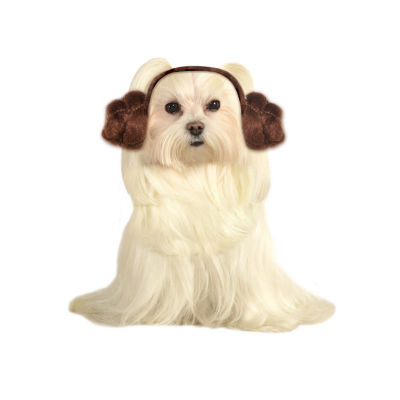 Buyseasons Star Wars Princess Leia Dog Buns Headpiece Pet Costume