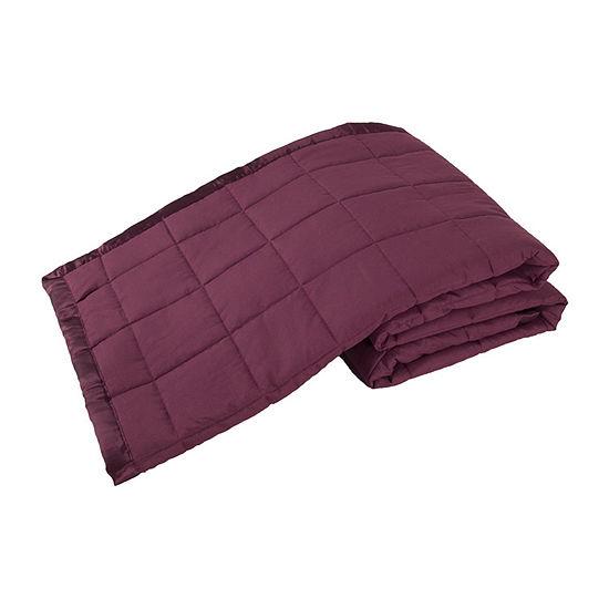 Elite Home Down Alternative Solid Blankets