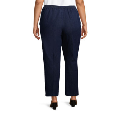Alfred Dunner Out of the Blue Classic Pant - Plus