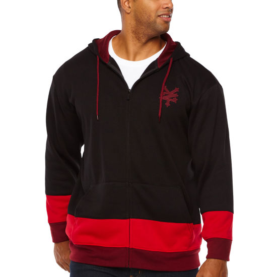 Zoo York Mens Hooded Neck Long Sleeve Hoodie-Big and Tall