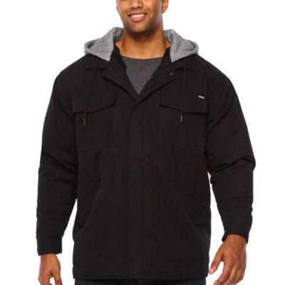 Zoo York Hooded Heavyweight Canvas Jacket - Big and Tall
