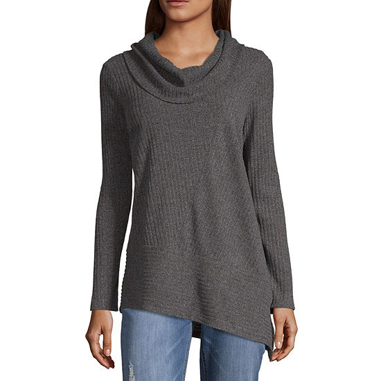 Alyx Womens Cowl Neck Long Sleeve Pullover Sweater