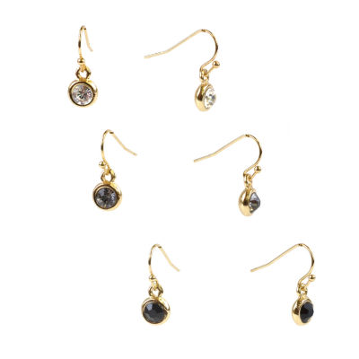 Mixit 3 Pair Earring Set