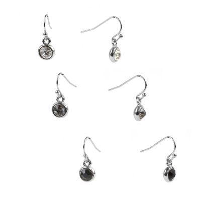 Mixit 3 Pair Earring Set