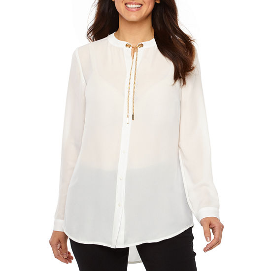 Bold Elements Womens Long Sleeve Blouse