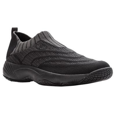 Propet Wash N Wear Slip On Knit Womens Walking Shoes Slip-on