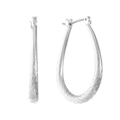 Gloria Vanderbilt 30.3mm Hoop Earrings