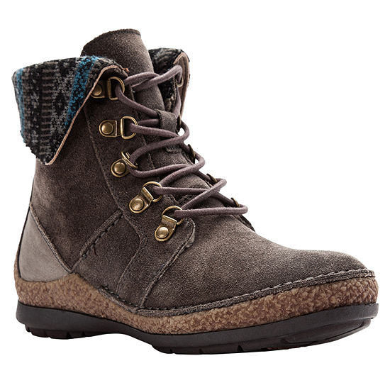 Propet Womens Dayna Lace Up Boots