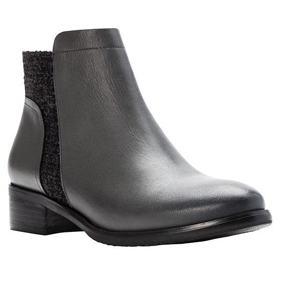 Propet Womens Taneka Dress Boots Stacked Heel