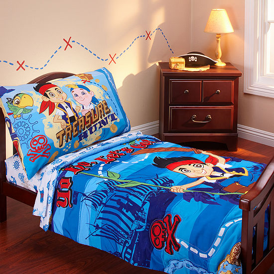 Jake And The Neverland Pirates 4-pc. Jake and the Neverland Pirates Toddler Bedding Set