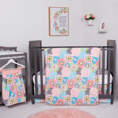 Waverly Blooms 5-pc. Crib Bedding