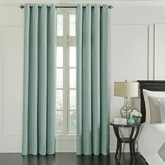 Beautyrest Arlette Blackout Grommet-Top Curtain Panel