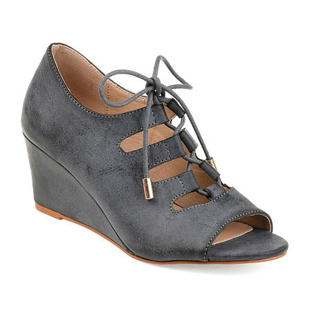 Vintage Shoes in Pictures | Shop Vintage Style Shoes Journee Collection Womens Kortlin Heeled Sandals 12 Medium Gray $52.49 AT vintagedancer.com