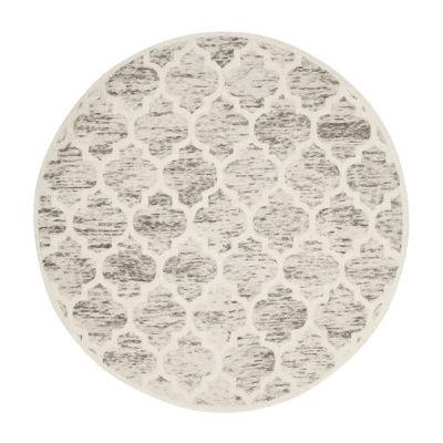 Safavieh Himalaya Collection Alison Abstract Round Area Rug