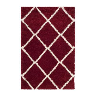 Safavieh Hudson Shag Collection Salome Geometric Area Rug