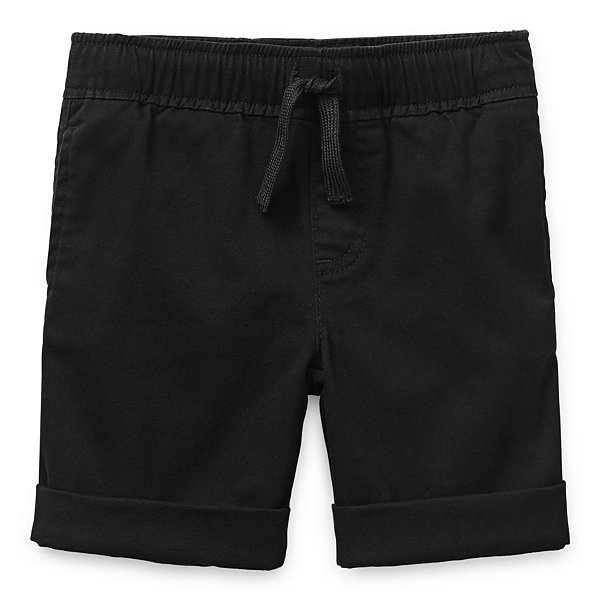 Okie Dokie Twill Toddler Boys Pull-On Short