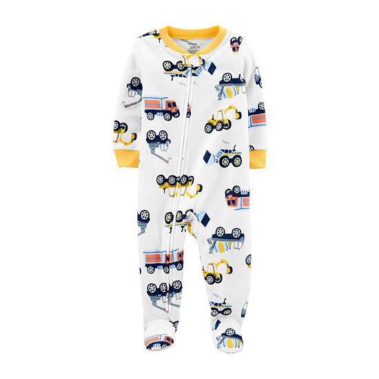Carter's Boys Microfleece One Piece Pajama Long Sleeve