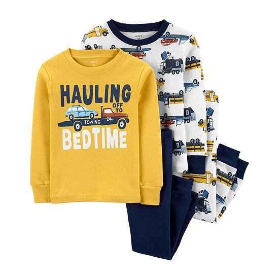 Carter's Boys 4-pc. Pajama Set Toddler