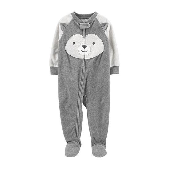 Carter's Toddler Boys Microfleece Long Sleeve One Piece Pajama